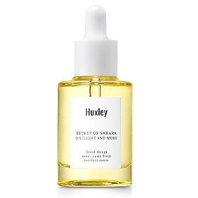 Tinh Chất Dưỡng Ẩm, Làm Sáng, Chống Lão Hóa Huxley Oil; Light And More 30ml