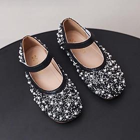 giày búp bê bé gái nhiều hạt