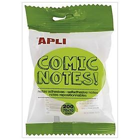 Giấy Note Comic 70x70 - APLI 16278