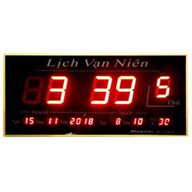 Đồng hồ Led vạn niên Guten