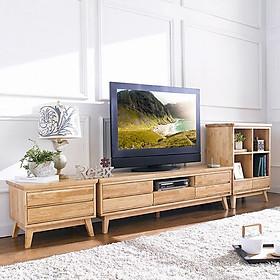 Tủ TV 5 Ngăn Kéo NB-Natural Gỗ Tự Nhiên Ibie LV5KNBNR (160 x 42 cm)
