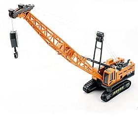 Xe đồ chơi mô hình xe cần cẩu chở hàng DLX  chất liệu nhựa ABS an toàn, chi tiết sắc sảo (hàng nhập khẩu)