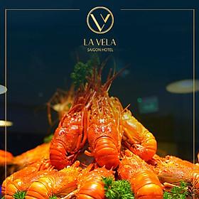 La Vela Saigon Hotel 5* - Buffet Tối Hải Sản Tôm Hùm, Cua Hoàng Đế, Bào Ngư, Soup Vi Cá, Vịt Quay Bắc Kinh - Free Soft Drink