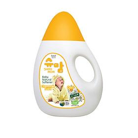 Nước xả tự nhiên hương cúc la mã dịu nhẹ cho trẻ SHOOMOM 1,3L