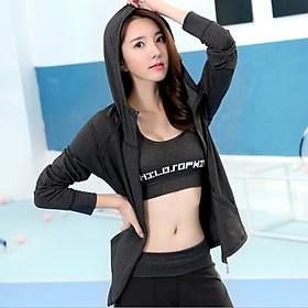 Áo khoác thể thao nữ tập thể dụng, Gym, Yoga, Aerobic Kip17