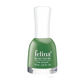 Sơn móng tay Felina 18ml CS551 - Xanh Rêu