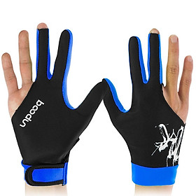 Găng tay bida cao cấp chống trơn trượt, thông thoáng bàn tay