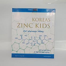 Ống Uống Bổ Sung Kẽm ZINC KIDS- Tăng Cường Sức Đề Kháng, Cải Thiện Tiêu Hóa - ( Hộp 20 ống)
