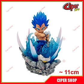 Mô hình Vegeta Blue - Led 11cm - Figure Vegeta Blue Dragon Ball