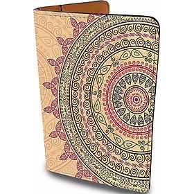Ví Passport Du Lịch Hoạ Tiết MANDALA Vintage - Bao Da Hộ Chiếu Đặc Sắc - Đa Năng - Tiện Lợi - Passport Cover Holder - PPT179