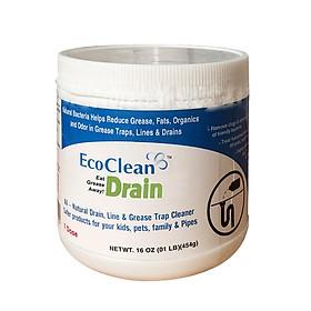 EcoClean Drain - Vi Sinh Xử Lý Dầu Mỡ Đường Ống 1 pound