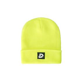 Beanie Hat D Logo - Neon