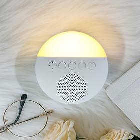 Máy tạo tiếng ồn trắng kèm đèn ngủ cho bé (20 Bài Hát) model : WN01 Tặng kèm tưa lưỡi silicon cho bé