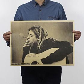 Áp Phích Hình Ban Nhạc Nirvana (51 x 35. 5cm)
