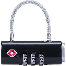 Khóa số NH20SJ005 TSA 3 số dùng khóa vali, khóa túi xách, khóa balo