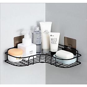 KỆ GÓC ĐA NĂNG, Kệ bằng sắt siêu chắc chắn phụ kiện lý tưởng cho phòng tắm, nhà bếp cực kỳ tiện dụng