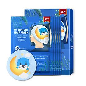 Hộp Mặt Nạ Dưỡng Tóc Ban Đêm Otter SNP OverNight Hair Mask