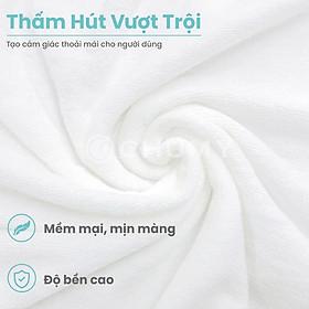 Khăn Tắm Khách Sạn 5 sao – Cotton 100% - Sợi se đôi cao cấp – Thấm hút cực tốt - Kích thước lớn 70 x 140 cm có thể quấn quanh người