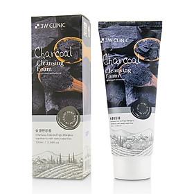 Sữa rửa mặt than hoạt tính 3W CLINIC Hàn Quốc 100ml