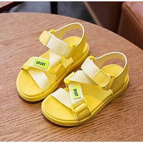 giày sandal bé gái kiểu dây chéo