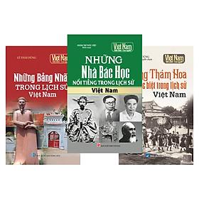Combo Tủ sách lịch sử - Gương sáng Việt Nam (Bộ 3 cuốn)