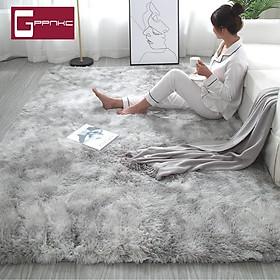 Thảm lông trải sàn lông mịn kích thước 1.2 x 1.6m- dài Thảm lông trải sàn cao cấp phòng khách trang trí nhà cửa.