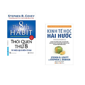 Combo 2 cuốn sách: Thói Quen Thứ 8 + Kinh tế học hài hước