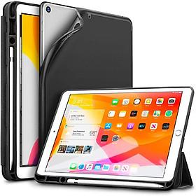 Bao da iPad 10.2 2019 ESR Rebound Pencil Slim Smart Case (Có khe cắm bút Apple Pencil) _Hàng Nhập Khẩu