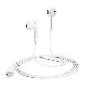 Tai nghe nhét tai cổng Type-C hỗ trợ đàm thoại hiệu COTEETCI CS5189 trang bị chip âm thanh DIGITAL HIFIcho Samsung Huawei Xiaomi Oppo Nokia Sony - Hàng nhập khẩu