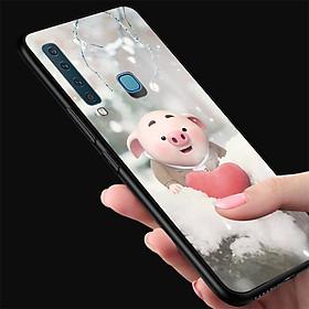 Ốp điện thoại dành cho máy Samsung Galaxy M30 - Trái tim của lợn con MS FUNN0026