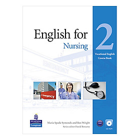 English for Nursing 2 course book w/CD-ROM