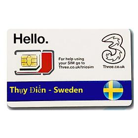 Sim Du lịch Thụy Điển - Sweden 4G tốc độ cao