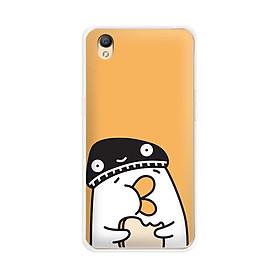Ốp lưng dẻo cho điện thoại Oppo Neo 9 (A37)  - 01099 7901 DUCK04 - Hàng Chính Hãng