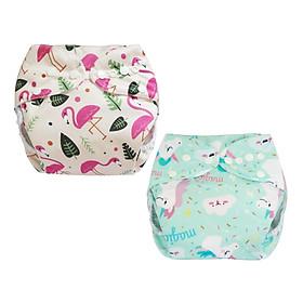Tã vải BabyCute ban Đêm Siêu chống tràn - Mua 2 bộ tã size L (14-24kg) - Tặng 1 bỉm Cotton size 3 (15-20kg) - Giao mẫu ngẫu nhiên-5