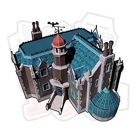 Mô hình giấy kiến trúc Liberty Square (Nhà ma)