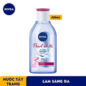 Nước Tẩy Trang Nivea Làm Sáng Da Pearl White Micellair Water (400Ml) - 84912