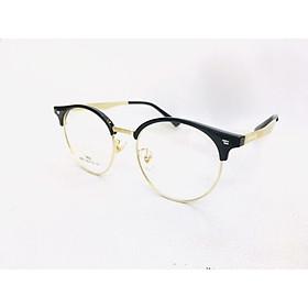 Gọng kính nửa gọng dáng tròn thời trang, năng động-SK9937- C1-vàng