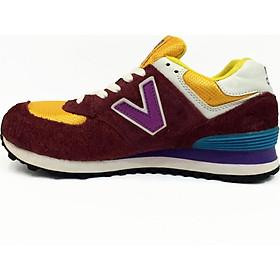 Giày Sneacker VNXK NB- NB02 Nâu Đỏ