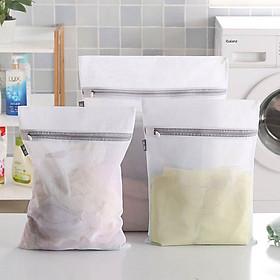 Combo nhiều túi lưới giặt đồ cho máy giặt bảo vệ quần áo chống biến dạng chất lượng tốt dây kéo lưới mịn Polyester