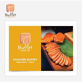 Hoàng Yến Buffet - Voucher Hoàng Yến Buffet Trưa Thứ 2 - Thứ 6