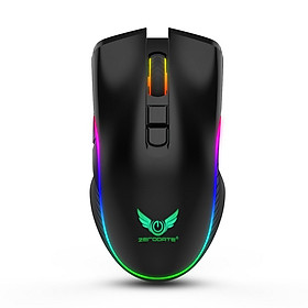 Chuột Không Dây Pin sạc T26 Gaming Mouse Type C - hàng nhập khẩu