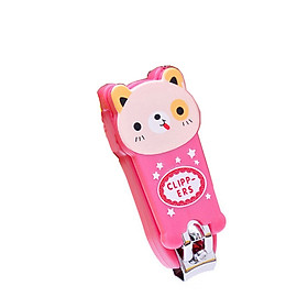 bấm móng tay hình gấu hồng kute