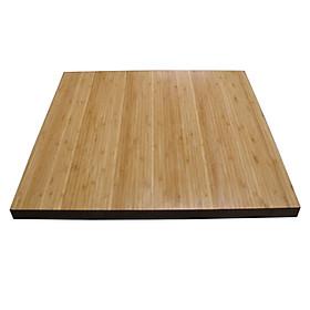 Mặt bàn tre HIGHLAND 60x60 - Mặt Bàn Tre Vuông Cạnh 60cm Dày 25mm