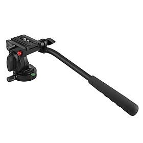 Flexible Aluminum Camera Tripod Head Video Tripod Head for Canon, Nikon and Other DSLR Cameras