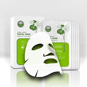 Combo 12 Mặt nạ dưỡng ẩm, trắng sáng da Hàn Quốc chính hãng Lagivado đắp mặt thư giãn, làm dịu da, cho làn da căng bóng và mềm mịn Hydra Calming Facial Mask dạng giấy