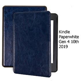 Bao Da Cover Cho Máy Đọc Sách Kindle Paperwhite Gen 4 10th Da Có Quai Cầm