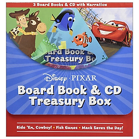 Disney Pixar Board Book & CD Treasury Box