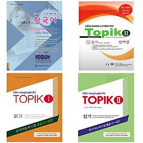 Trọn bộ 4 cuốn Cẩm nang luyện thi topik và Sách học tiếng Hàn cùng Châu Thuỳ Trang