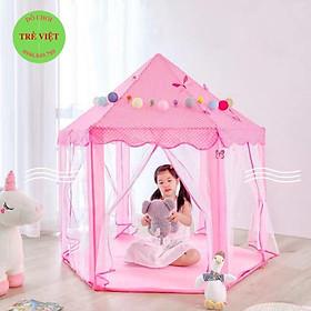 Lều công chúa – lều hoàng tử ️FREEHIP️ kích thước cỡ lớn 1.4m, vải mịn màng, bền đẹp và rất dễ vệ sinh