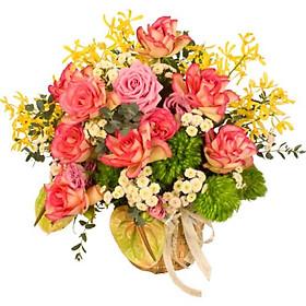 Giỏ hoa tươi - Làn gió mới 3989